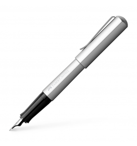 Hexo Fountain Pen,Silver