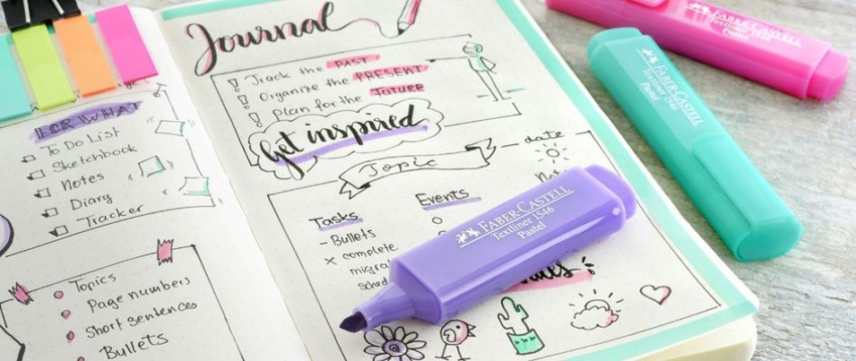 Get organized with bullet journals