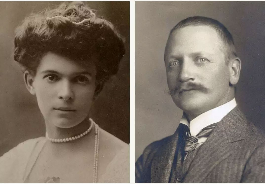 Countess Ottilie and Count Alexander von Faber-Castell