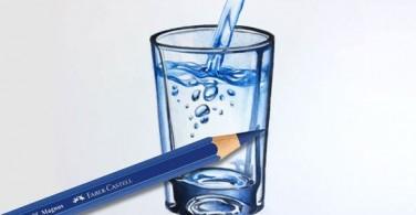 How to colour a water glass with Albrecht Dürer Magnus