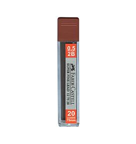 Superfine Leads, 0.5mm, 2B