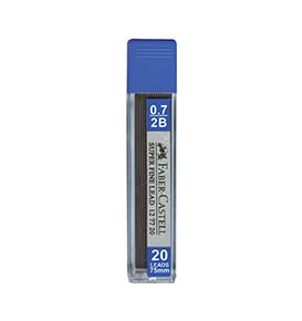 Superfine Leads, 0.7mm, 2B