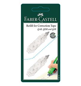 2-pieces Correction Tape Refill Set for QAR/QJR /QDR