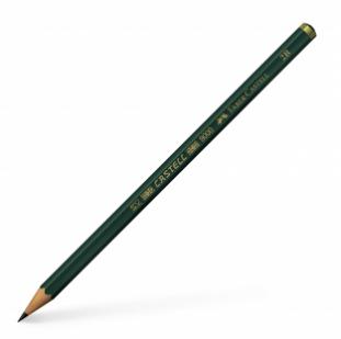 Castell 9000 Graphite Pencil, 2B