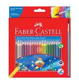 24-pieces Watercolour Grip Pencils