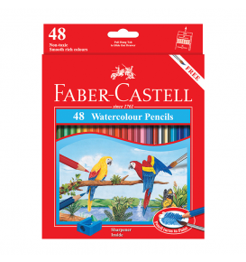 48-pieces Watercolour Pencils Set