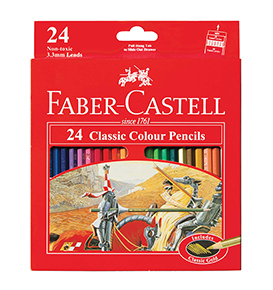 24-Pieces Classic Coloured Pencil