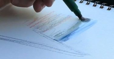 How to Use Water Brush: Watercolouring