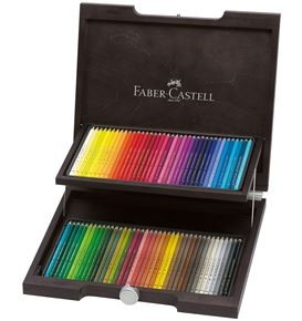 72-Pieces Polychromos Colour Pencil in Wooden Case