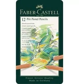 12-Pieces Pitt Pastel Pencils in Tin