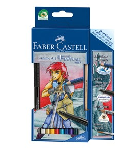 Art Grip Aquarelle Anime Art Fantasy Watercolour Pencil Set