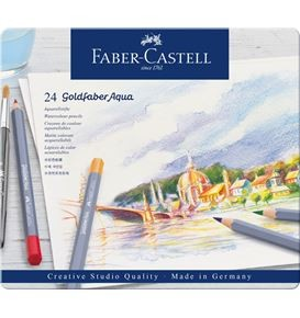 24-pieces Goldfaber Aqua Watercolour Pencil Set