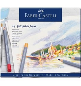 48-pieces Goldfaber Aqua Watercolour Pencil Set