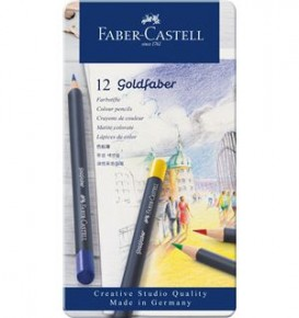 12-pieces Goldfaber Colour Pencil Set