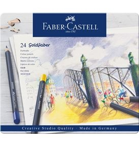 24-pieces Goldfaber Colour Pencil Set