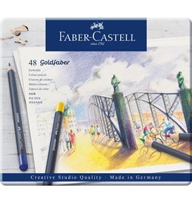 48-pieces Goldfaber Colour Pencil Set