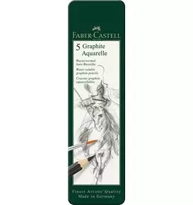 5-Pieces Graphite Aquarelle Pencil