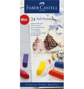 24-Pieces Soft Pastel, Half Length
