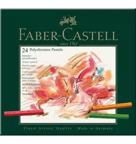 24-Pieces Polychromos Artists' Pastel Set