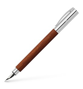 Ambition Pearwood Fountain Pen, Brown