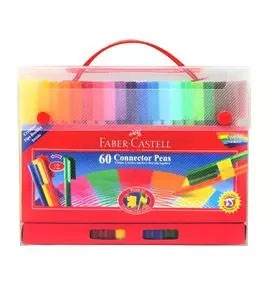 60-Pieces Connector Pen Colouring Gift Set