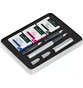 Grip 2011 Calligraphy Gift Set, Silver