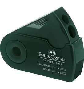 Castell 9000 Twin Sharpening Box, Green