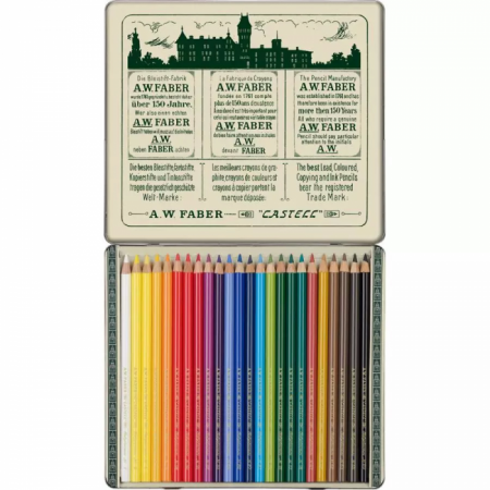 24-Pieces 111th Anniversary Polychromos Limited Edition Colour Pencil