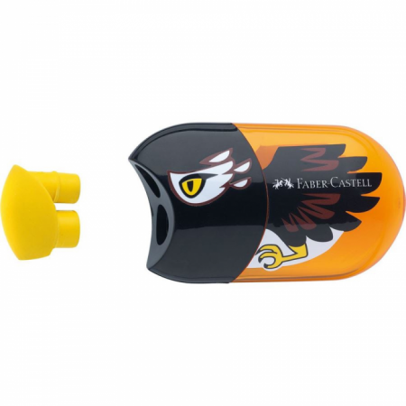 2 Hole Sharpener & Eraser, Eagle