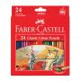24-Pieces Classic Coloured Pencil