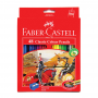 48-Pieces Classic Coloured Pencil with Sharpener