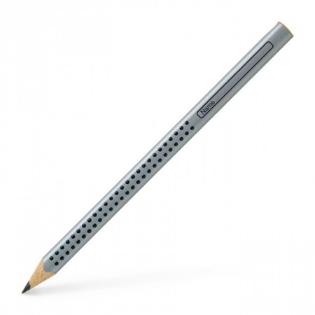 Jumbo Grip Black Graphite Pencil, Grey