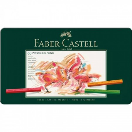 60-Pieces Polychromos Artists' Pastel Set