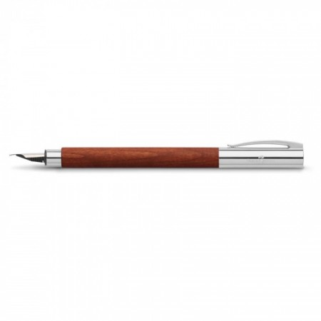 Ambition Pearwood Fountain Pen, Medium, Brown